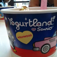 Photo taken at Yogurtland by Viviana A. on 7/13/2012