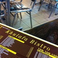 Photo taken at Restoran Khulafa Bistro by Azrie M. on 1/20/2011