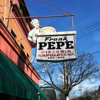 Photo taken at Frank Pepe Pizzeria Napoletana by George I. on 12/30/2011
