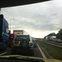 Photo taken at M6 Junction 27 / A5209 by Sarah B. on 8/23/2011