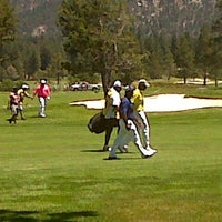 Photo taken at Edgewood Tahoe Golf Course by Margaret F. on 7/21/2012