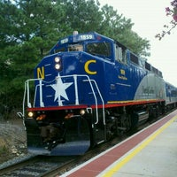 Photo taken at Amtrak - Cary Station (CYN) by Jeffrey O. on 12/29/2011