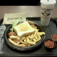 Photo taken at Zaxby's Chicken Fingers & Buffalo Wings by Jonathan B. on 3/24/2012