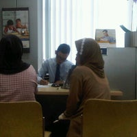 Photo taken at Bank Mandiri by Diki S. on 11/7/2011