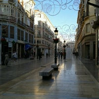 Photo taken at Marqués de Larios Street by Pedro P. on 11/15/2011
