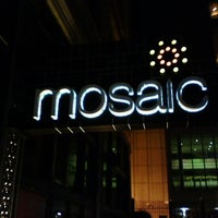 Photo taken at Mosaic by Steven M. on 6/25/2012