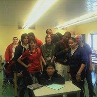 Photo taken at Belmont High School by Cynthia T. on 10/27/2011