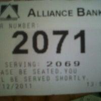 Photo taken at Alliance Bank (Taman Eng Ann) by Skudut on 12/27/2011