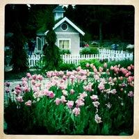 Photo taken at Coastal Maine Botanical Gardens by Emily R. on 10/8/2011