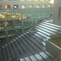 Photo taken at Soongsil University by Erika K. on 1/25/2012
