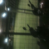 Photo taken at Cimahpar Futsal by Jarip Aripudin Almamuni on 1/14/2012