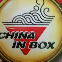 Photo taken at China in Box by Fernanda P. on 9/7/2011
