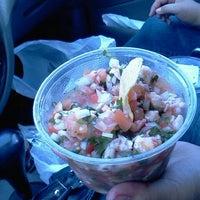 Photo taken at Establos Meat Market by Melle M. on 4/20/2012