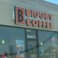 Photo taken at BIGGBY COFFEE by Cindy K. on 6/9/2012