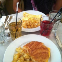 Photo taken at Cafe Champignon by Carlita M. on 4/7/2012
