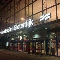 Photo taken at Amsterdam Sloterdijk Station by Marjolein v. on 11/6/2011