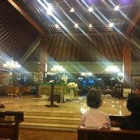 Photo taken at Gereja Santo Stefanus by Charlie R. J. on 10/22/2011