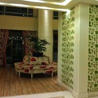 Photo taken at Airotel Stratos Vassilikos Hotel by Jo F. on 5/23/2011