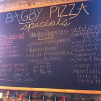 Photo taken at Bagby Pizza Co. by @followfrannie B. on 7/26/2011