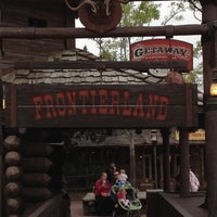 Photo taken at Frontierland by Brady J. on 2/26/2012