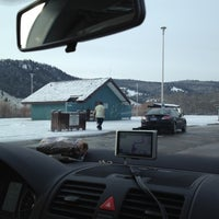 Photo taken at Bearmouth Rest Area EB by John F. on 3/12/2012