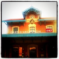 Photo taken at Gare SNCF d'Arcachon by Jacques F. on 8/25/2011