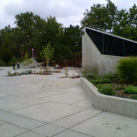 Photo taken at University Of Utah Fountain by Joshua T. on 10/7/2011