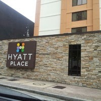 Photo taken at Hyatt Place Atlanta/Downtown by Pocahantas J. on 8/15/2012