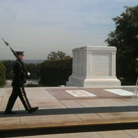 Photo taken at Tomb of the Unknowns by D W. on 10/10/2011