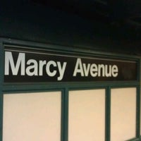 Photo taken at MTA Subway - Marcy Ave (J/M/Z) by Mick M. on 1/18/2012