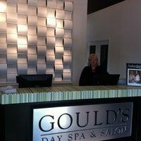 Photo taken at Gould's Salon Spa - Poplar Plaza by Melissa W. on 3/29/2012