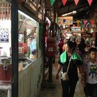 Photo taken at Klong Suan 100-Year-Old Market by Ake K. on 9/1/2012