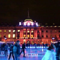 Photo taken at Somerset House by Katerina K. on 1/10/2012