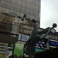 Photo taken at Plaza Polanco by Charlie R. on 2/11/2012