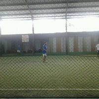 Photo taken at Cimahpar Futsal by Ardi A. on 11/29/2011