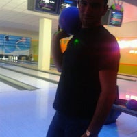 Photo taken at Cosmic Bowling by Ahmet Ö. on 5/18/2012