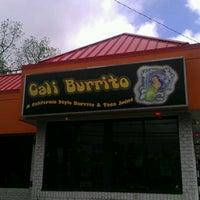 Photo taken at Cali Burrito by Derek D. on 5/15/2012