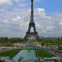Photo prise au Jardins du Trocadéro par Parisian Geek le4/8/2011