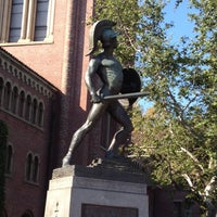Photo taken at Tommy Trojan by Cha-Ling on 4/21/2012