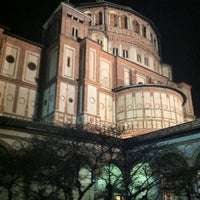 Photo taken at Santa Maria delle Grazie by Marco D. on 1/24/2011