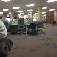 Photo taken at McIntyre Library by Brian D. on 12/4/2011
