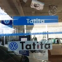 Photo taken at Tatita Volkswagen by Gabriel B. on 1/4/2012