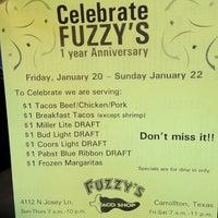 Photo taken at Fuzzy's Taco Shop by Tavis S. on 1/15/2012