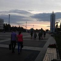 Снимок сделан в Площадь Ленина пользователем Pasha A. 6/30/2012