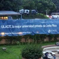 Photo taken at Universidad Latinoamericana de Ciencia y Tecnología (ULACIT) by Gabriel H. on 6/18/2012