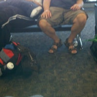Photo taken at Gate C9 by Michelle R. on 6/12/2012