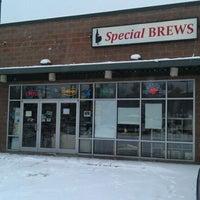 Photo taken at Special Brews Bottle Shop by Bryan B. on 1/18/2012