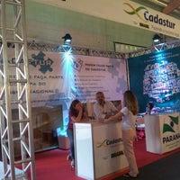 Photo taken at 2° Festival de Turismo do Litoral do Paraná by Alexane S. on 8/18/2012