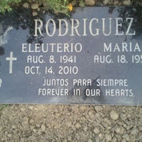 Photo taken at Sacred Heart Cemetery by Diane R. on 9/2/2011