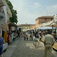 Photo taken at Mercato di Codogno by Davide B. on 6/3/2011